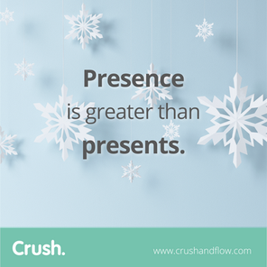 It's Christmas Eve. Let's be present!