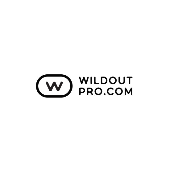 Wild Out Pro Sticker (Oval Black)