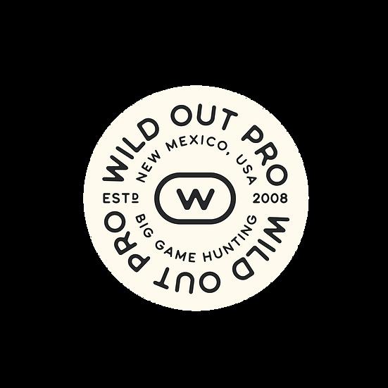 Wild Out Pro Sticker (Round)