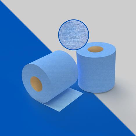 65B. Paño azul uso rudo