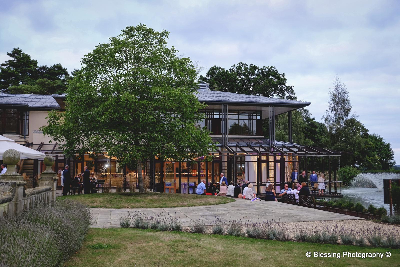 Fanhams Hall Tea House Wedding