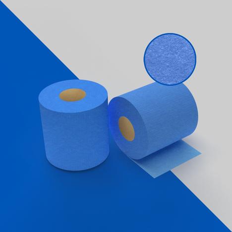 B870. Paño azul shop towel