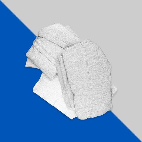 Trapo gris prelavado (100% playera)