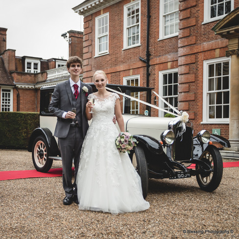Hunton Park Wedding