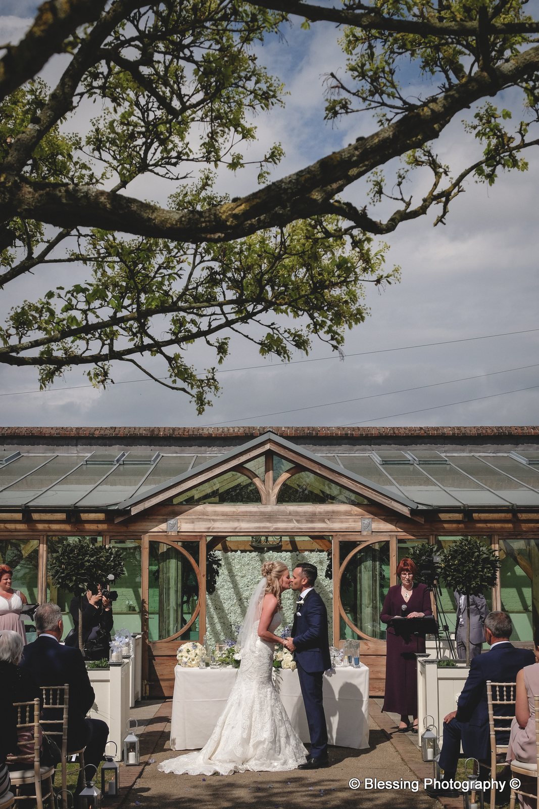 Gaynes Park Barns Wedding
