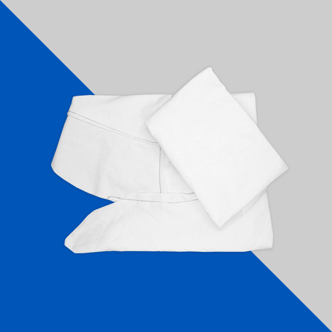 Trapo blanco mixto (liso con cosido)