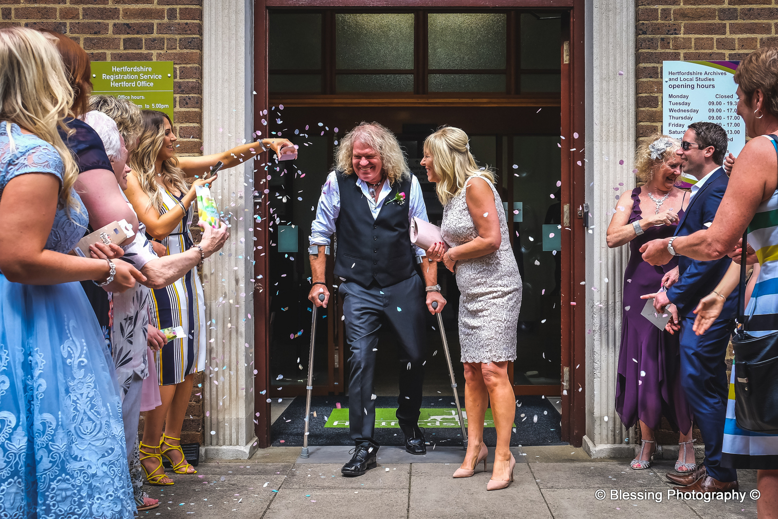 Hertford Register Office Wedding
