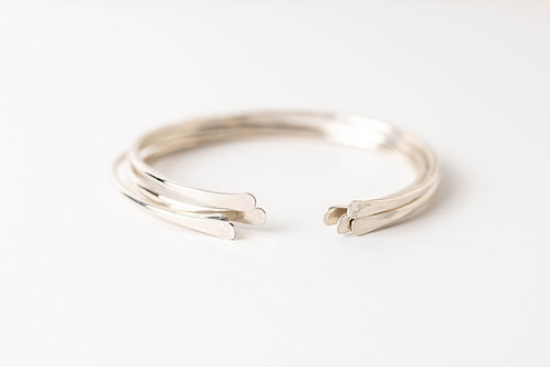 Crescent Cuff | Sterling Silver