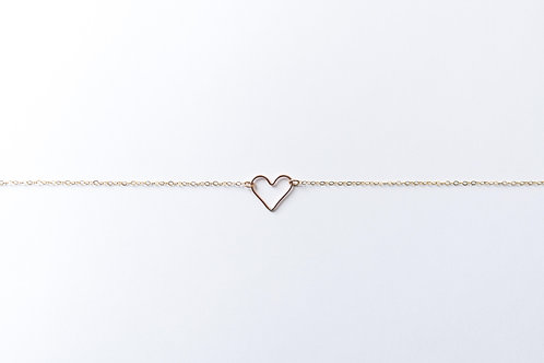 Heart Necklace | Rose Gold Filled