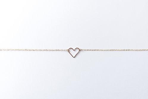 Heart Necklace | Rose Gold Filled