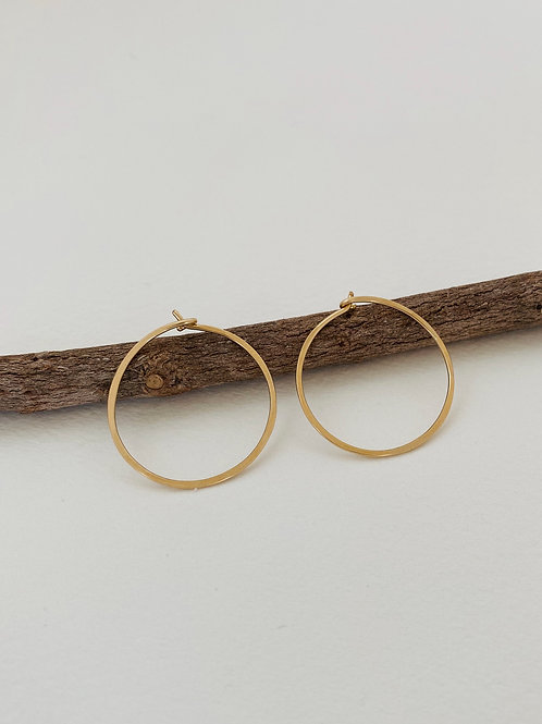 Meridian Earrings | Gold Filled