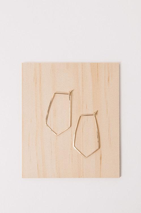 Hayden Valley Earrings | Gold Filled
