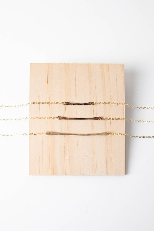 Horizon Necklace | Gold Filled