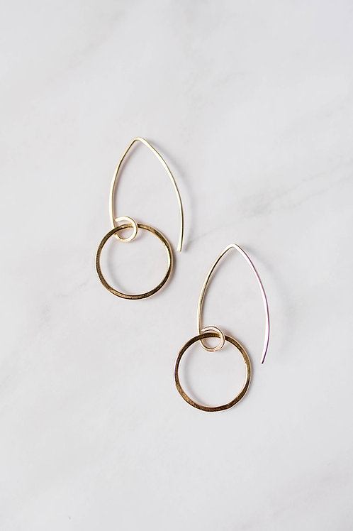 Hoop Earrings | Gold Filled