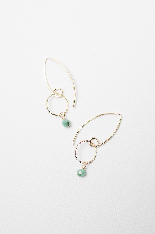 Linly Earrings | Gold Filled