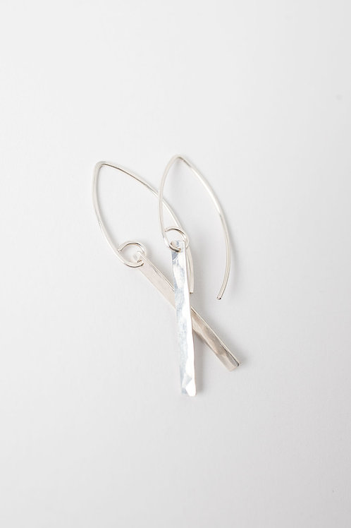 Willow Earrings | Sterling Silver