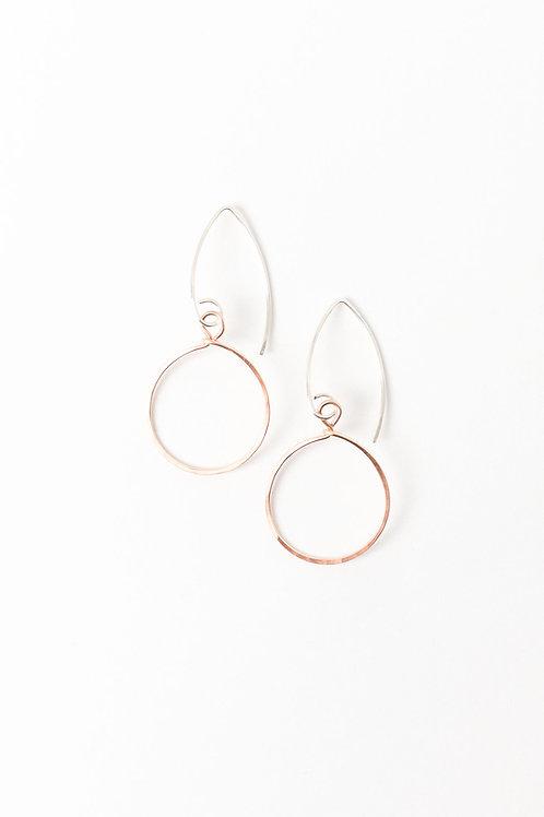 Sunshine Earrings | Rose Gold Filled