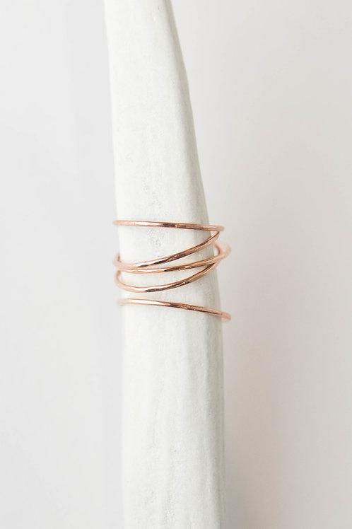 East Ring | Rose Gold Filled