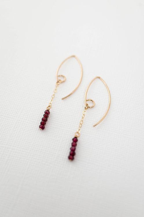 Change of Seasons Earrings | Gold Filled