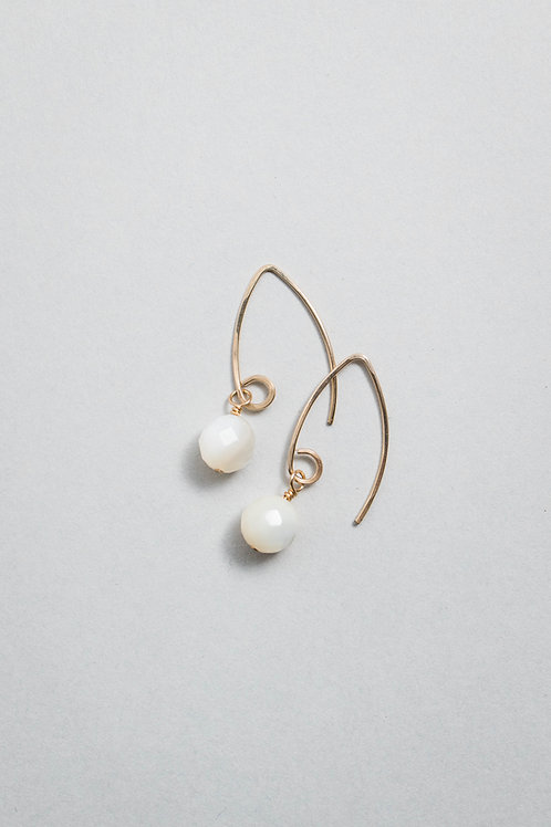 Pearl Earrings | Gold Filled