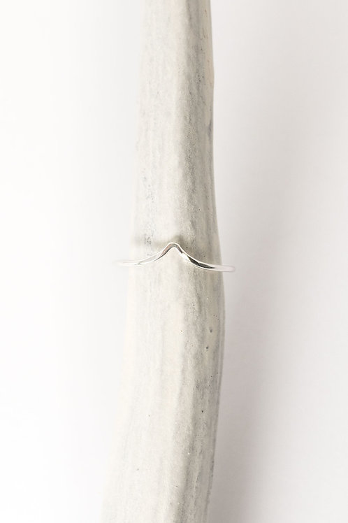 Wave Ring | Sterling Silver