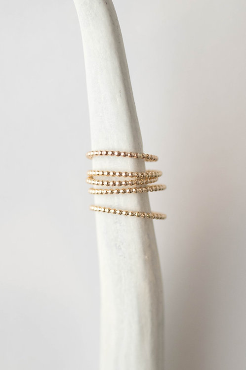 West Ring | Gold Filled