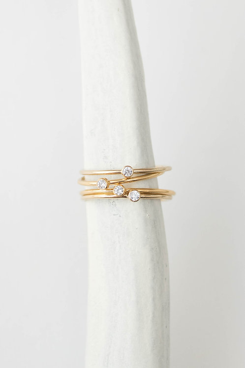 Gem Ring | Gold Filled