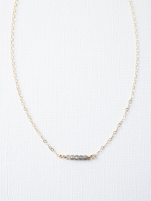 Moon Struck Necklace | Gold Filled
