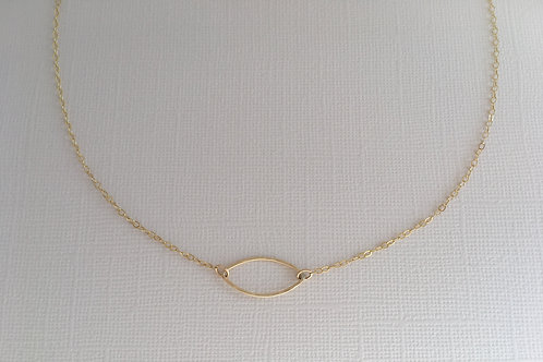 Mystic Necklace | Gold Filled