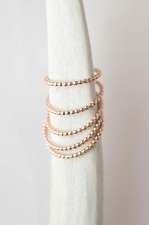West Ring | Rose Gold Filled
