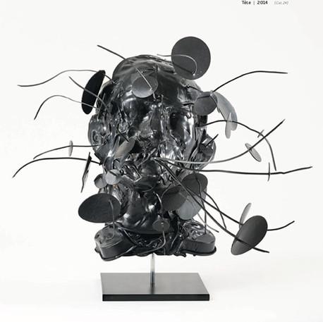 Sculptures • 2014 _Tête 03