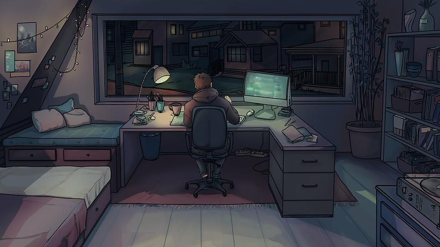 Midnight Studying