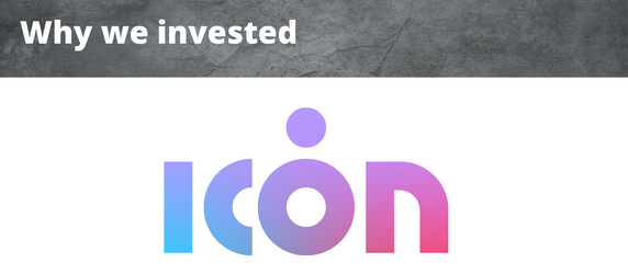 Why We Invested - ICON