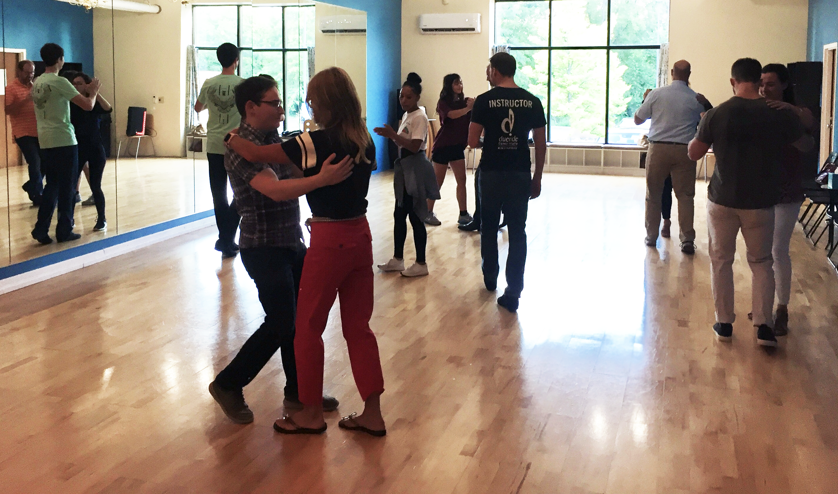salsa and bachata classes