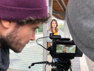 Dreharbeiten für ein Schulungsvideo im Auftrag der Universität Eichstätt