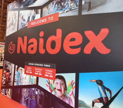 We're going to Naidex