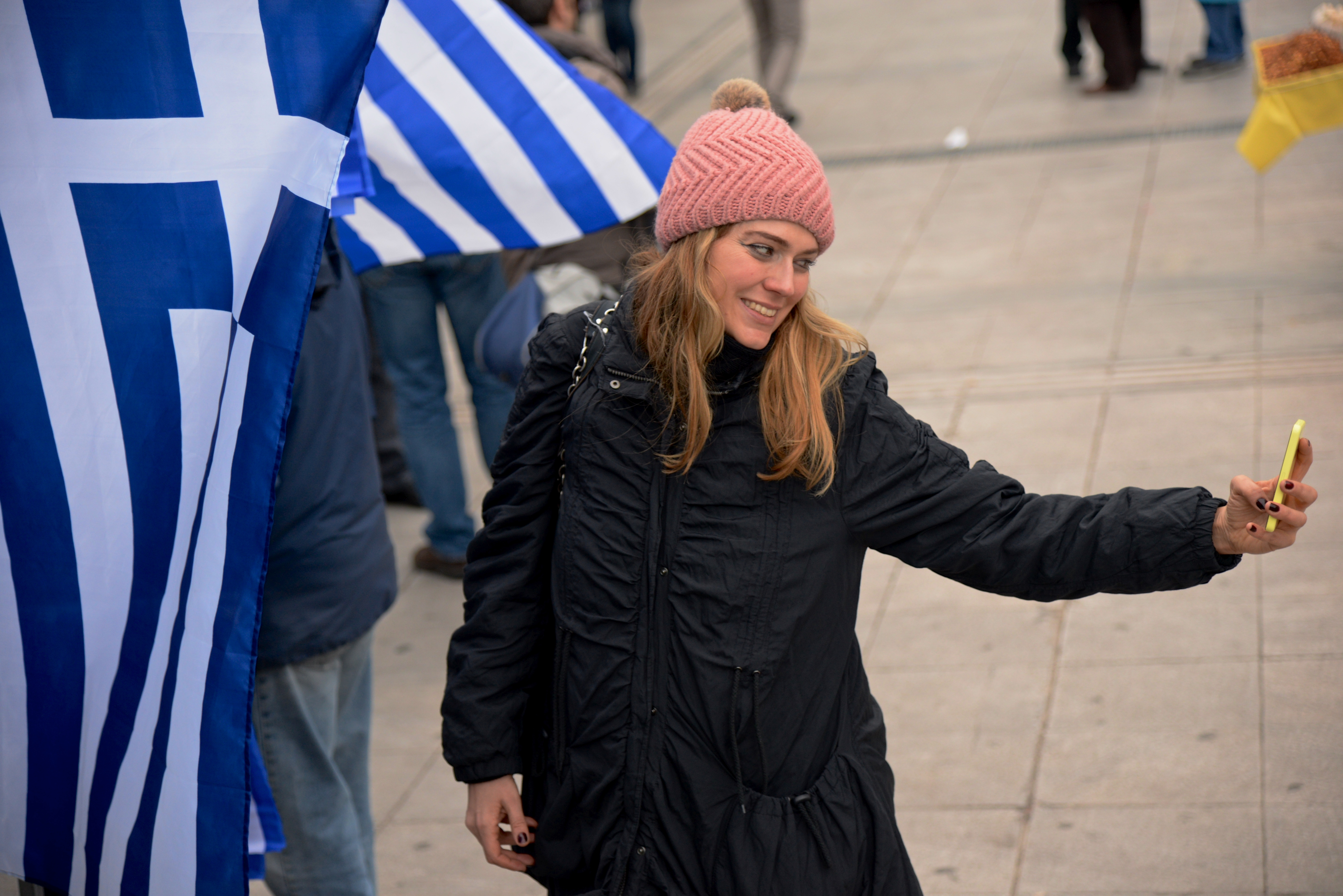 Selfie alla greca