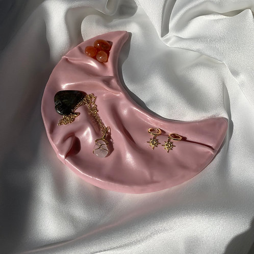 Simply Lua x Jewels by Val, pink moon tray