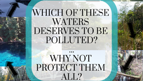All Waters Are Connected: Speak Up Against the Dirty Water Rule