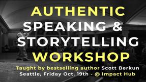 Authentic Speaking & Storytelling