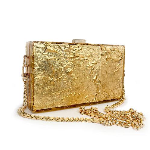 Golden Girl Clutch