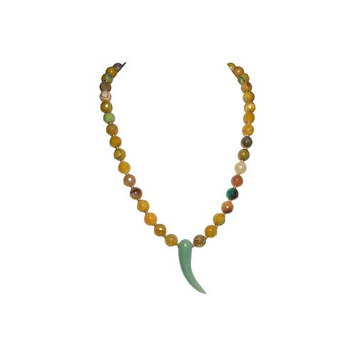 Gran Agate Corne Necklace