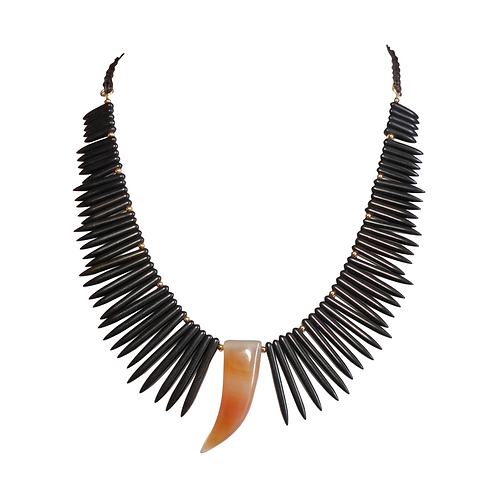 Pointe Corne Necklace