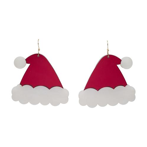 Santas' Hat Earrings