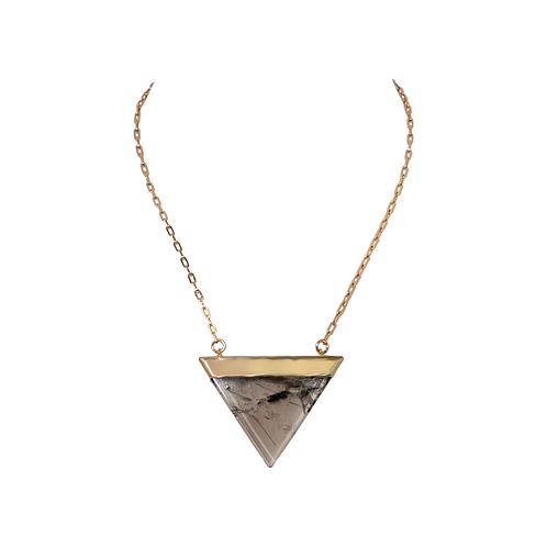 Triangle Pendant Dalle Necklace