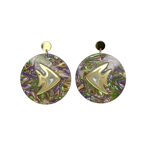 Fish Reef Earrings