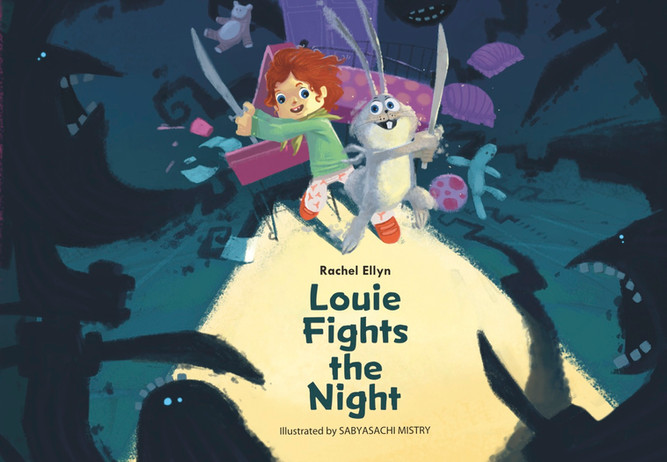 Louie Fights the Night: A Dust Bunny Book