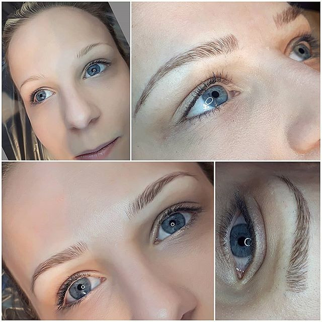 Another light an fluffy brow today!_Beautiful brows starting a 288!_#xcessoreyes #xpose #permanentmakeup #nanaimobeauty #microbladed#yyjbro