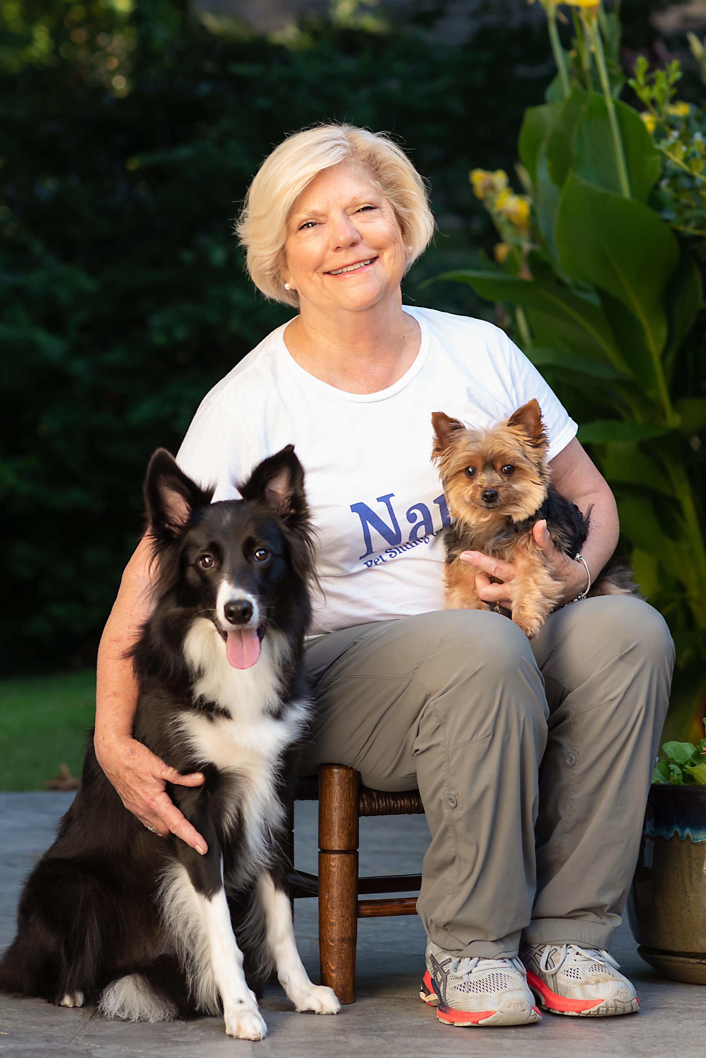 Linda Edwards owner of Nana's Pet Sittin