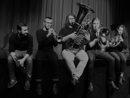 Brass and brews on Friday, April 5, at the Guardian